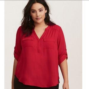 Torrid Harper blouse